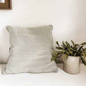 Seafoam green toss pillow